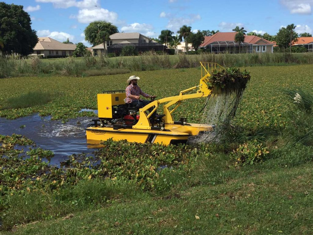 Weedoo Canal Weed Removal Equipment