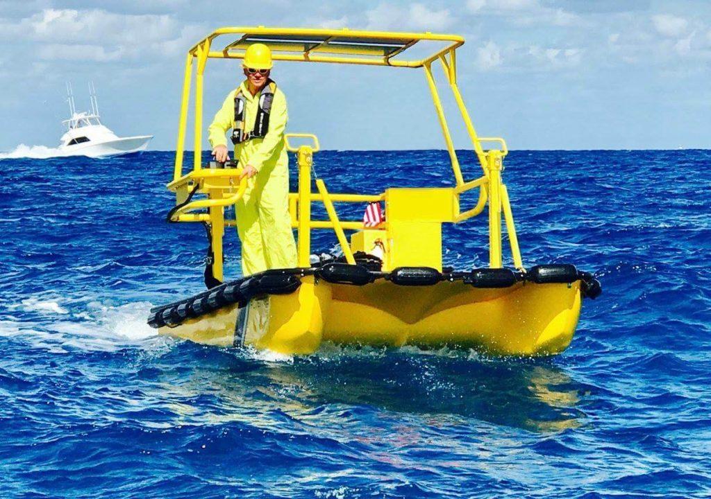 Weedoo Ocean Patrol & Safety Boat