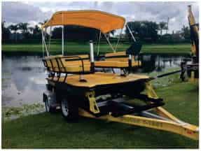 aquatic weed harvesters100
