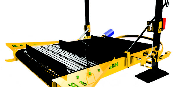 Aquatic weed conveyors systems