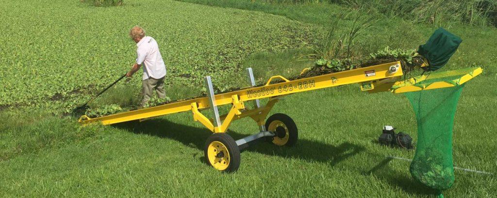 Weedoo 646-EBH Portable Conveyor Shore Clean Up