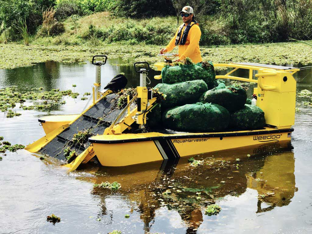 Lake Weed Cutter Aquatic Weed Removal Amp Harvester Boats