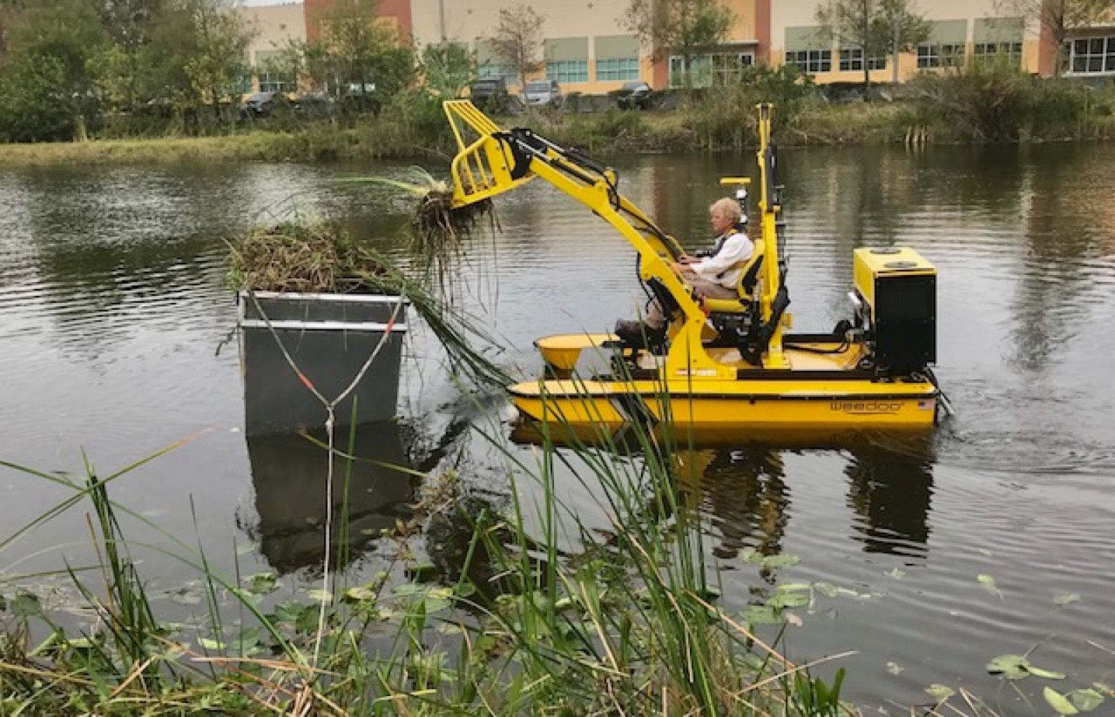 Photo Gallery Pond Cleaning Services Aquatic Weed Control