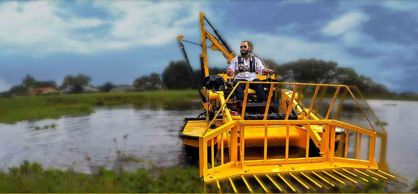 Lake Weed Cutter Aquatic Weed Removal Amp Harvester Boat