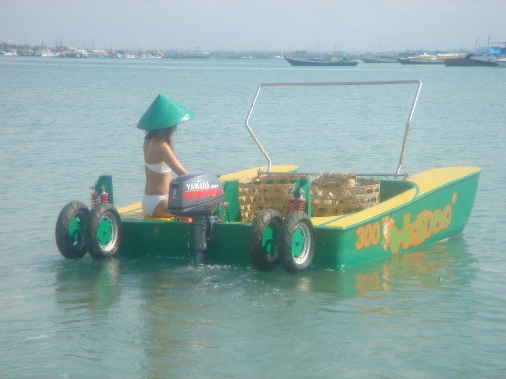Clean water Asian islands