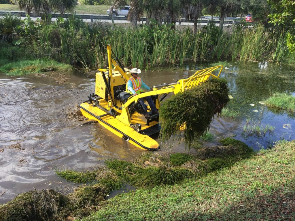 TC 3000 series Milfoil Removal Equipment