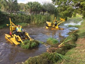 TC 3000 series Lake Weed Removal