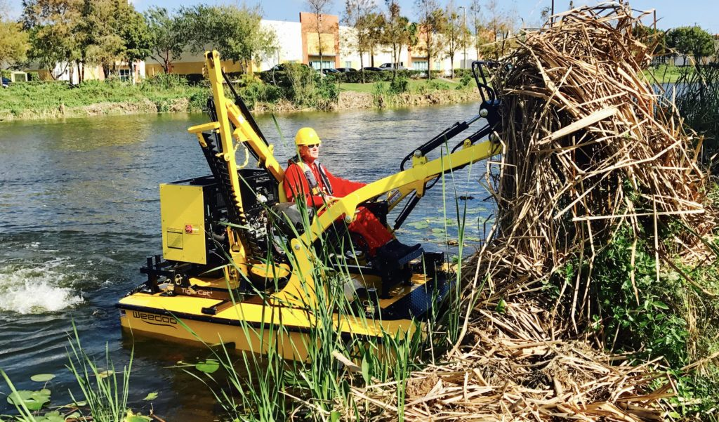 weedoo-TC3000 series-cattail-removal