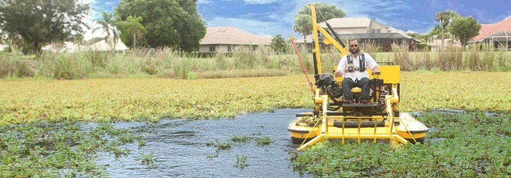 Weedoo TC 3000 series Aquatic Harvester Water Rakes