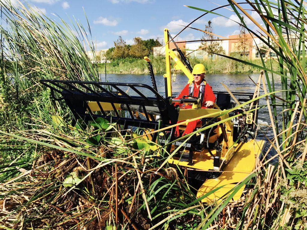 Weedoo Pond Cleanup