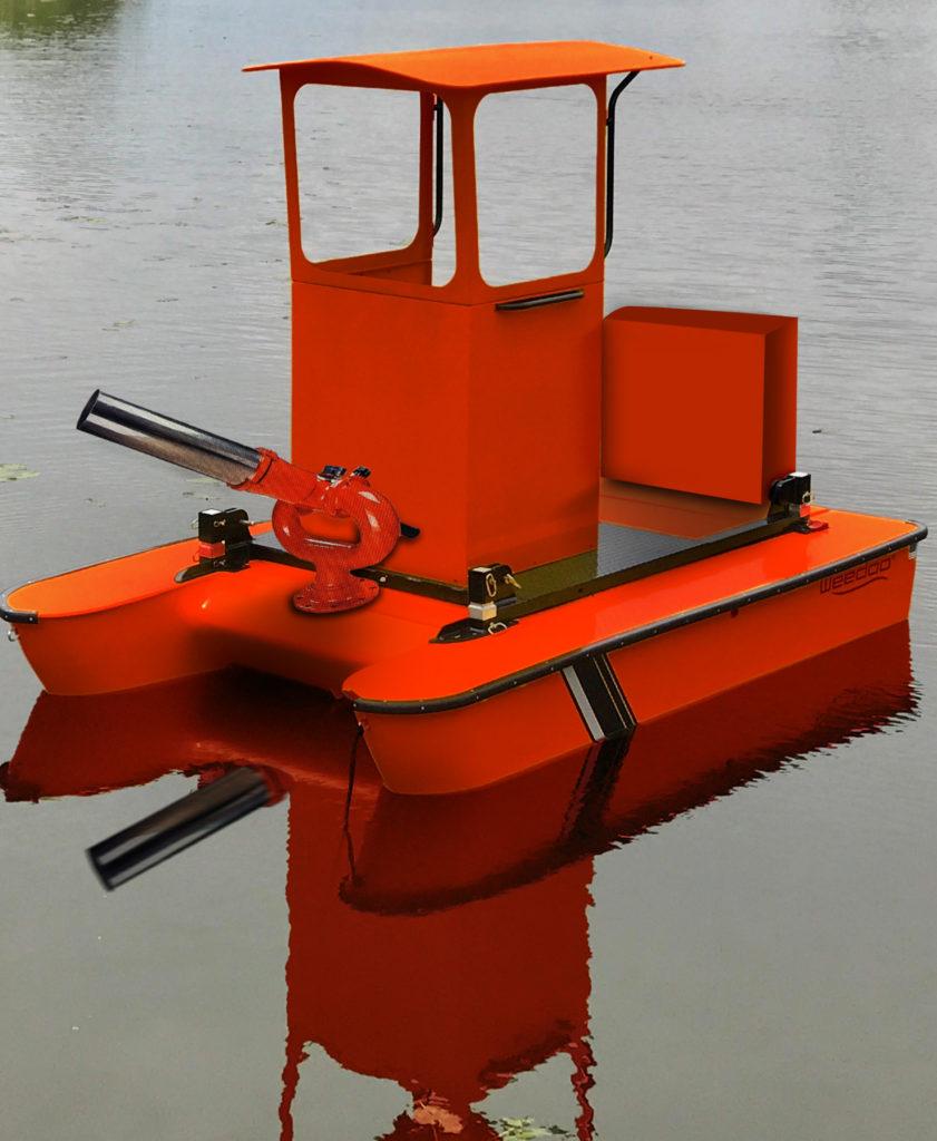 Weedoo Fire Work Boat