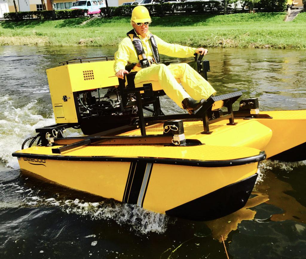 Weedoo TigerCat Aquatic Boat