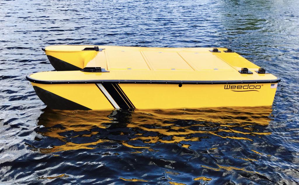Weedoo Workboat Flush Deck Barge Design