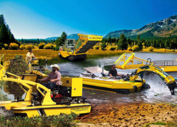 Aquatic Weed Removal Vessels